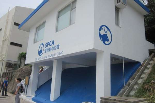The Hong Kong SPCA's satellite location in Cheung Chau.