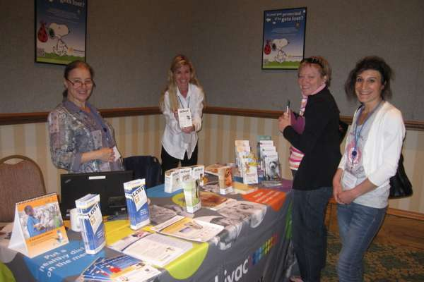 Representatives from Merck Animal Health shared their programs with attendees.