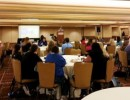 Attendees listen to one of many expert presentations during the 2013 Shelter Medicine Conference