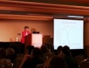 One of many expert presentations at the 2013 Shelter Medicine Conference