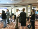 Posters displayed in the exhibition hall at the 2013 Shelter Medicine Conference