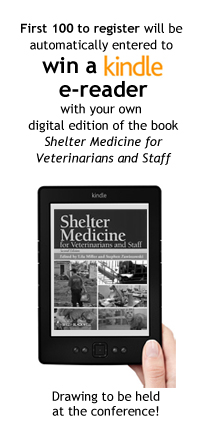 Register for the Shelter Medicine Conference and be entered to win a Kindle.