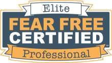 Decoratie image of Fear Free elite logo