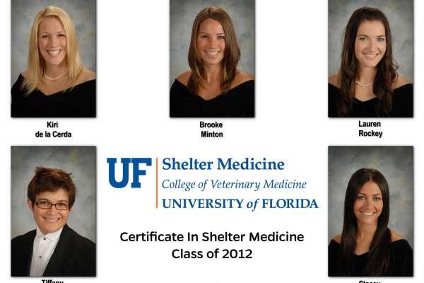 Shelter Medicine Certificate Class of 2012