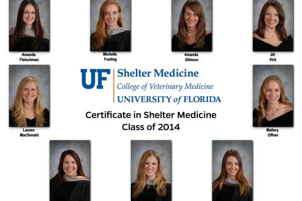 Shelter Medicine Certificate Class of 2014