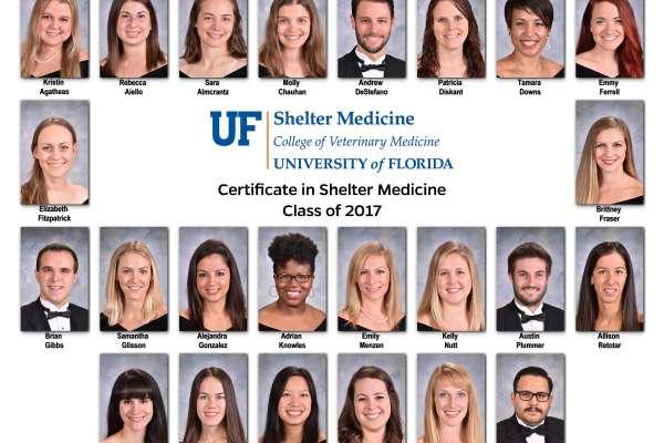 Shelter Medicine Certificate Class of 2017